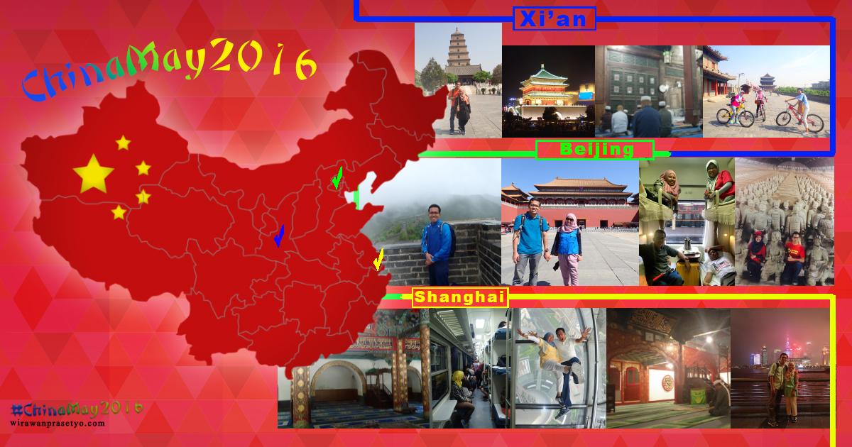 #chinamay2016 - xian beijing shanghai