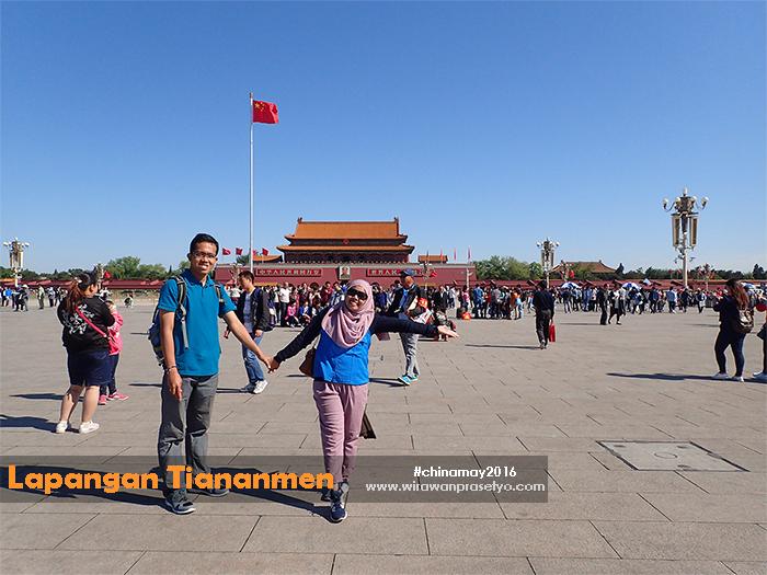 Chinamay2016 - Lapangan Tiananmen