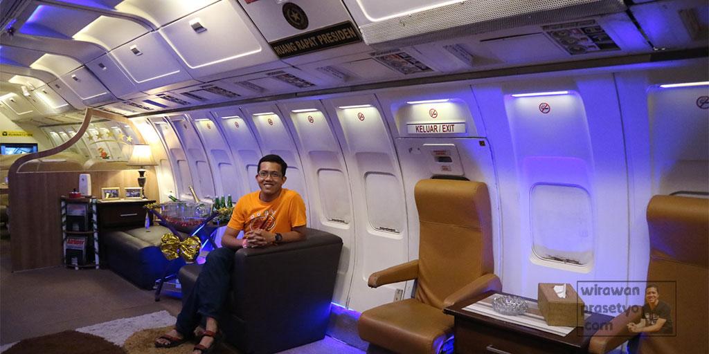 Museum Angkut Pesawat Kepresidenan