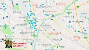Map Sapporo
