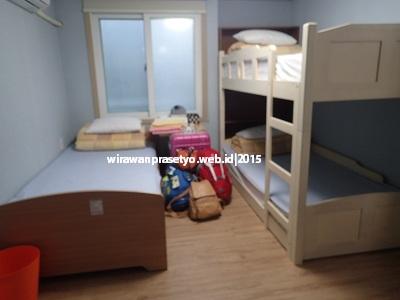 Survey Korea Jepang : menginap di able guesthouse dongdaemun