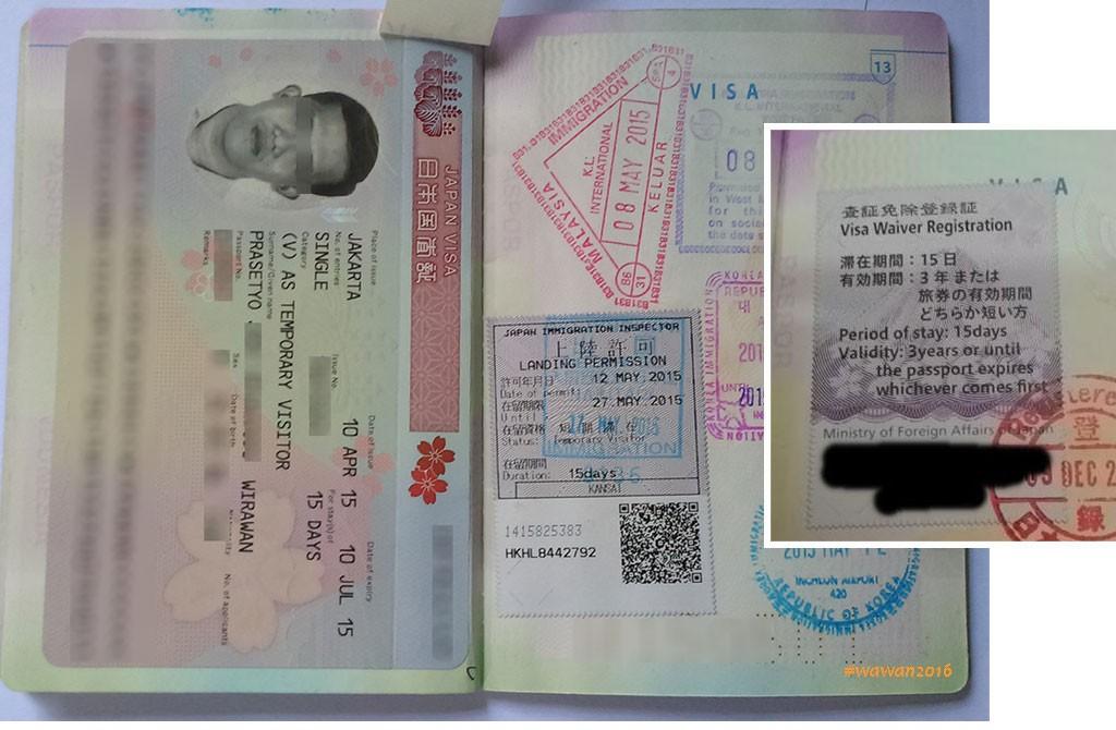 Perbedaan Visa Jepang Dan Visa Waiver Jepang; ( waiver diambil dari http://catperku.com/cara-daftar-bebas-visa-jepang-visa-waiver/ ) * Klik gambar untuk memperbesar
