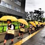 Anak Sekolah di Osaka