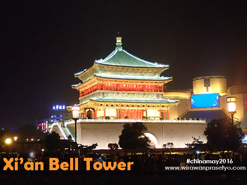 Xian Bell Tower - #chinamay2016