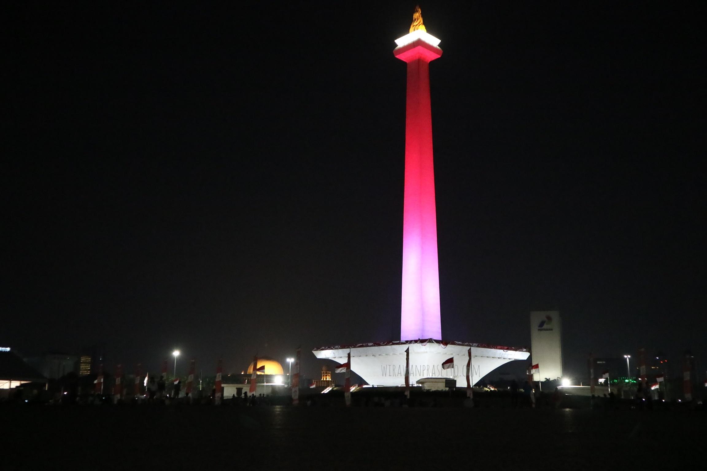 Malam mingguan (lagi) di Sekitaran Monumen Nasional