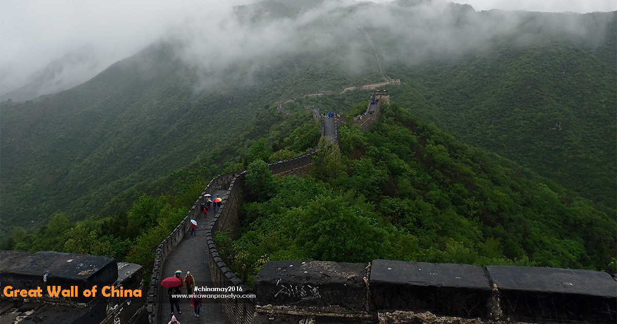China Great Wall Mutianyu -
