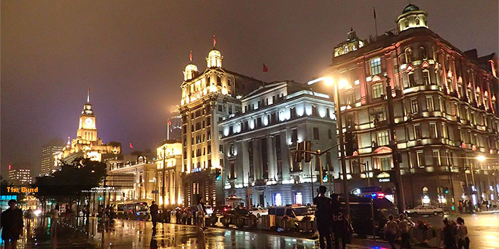 Bangunan Art Deco di The Bund;
