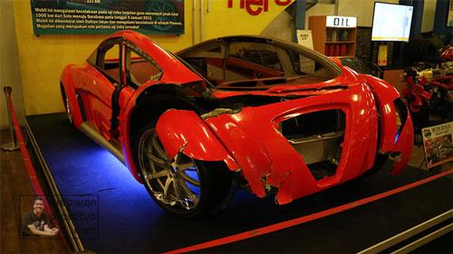 Museum Angkut Display Mobil Listrik Tucuxi Dahlan Iskan