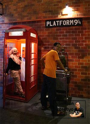 Museum Angkut Platform 9 3/4 Harry Potter Ternyata Harry porter syuting disini