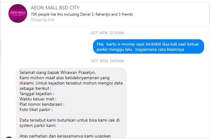 Refund Emoney Mandiri