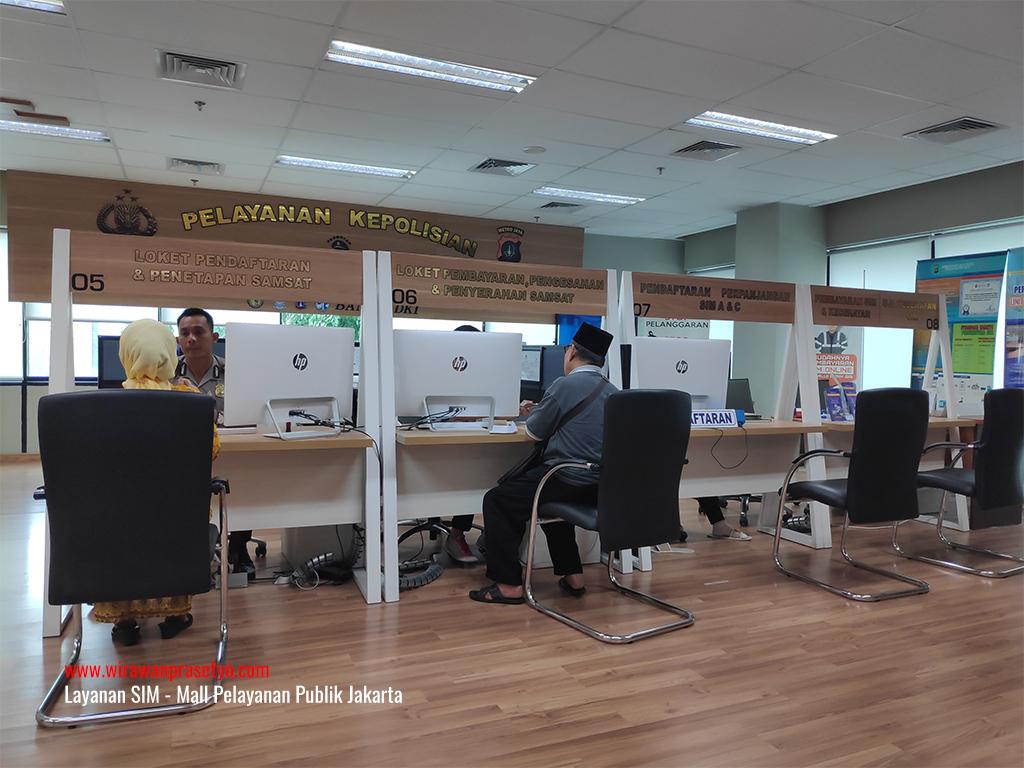 Layanan SIM Mall Pelayanan Publik Jakarta