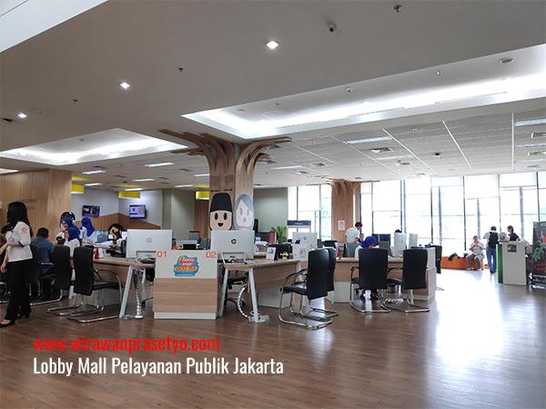 Lobby Mall Pelayanan Publik Jakarta
